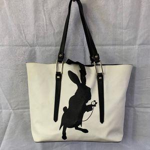 Handbags - Through the Looking Glass White Rabbit Purse